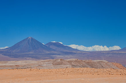 Licancabur and Jurique Volcanos.
