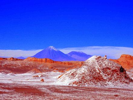 Chile | San Pedro de Atacama | Valle Luna | Tal des Mondes Vulkan Licancabur