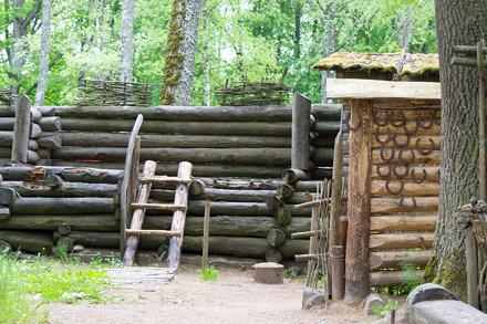 wood stockade
