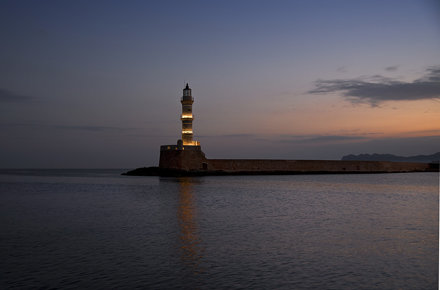 Lighthouse at first light
