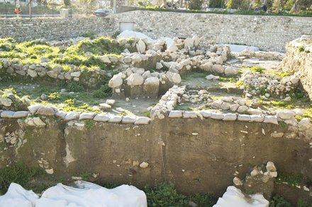 Liman Tepe Excavation Sector, looking west