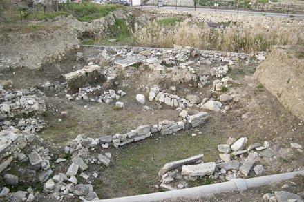 Klazomenai/Liman Tepe Excavation Sector, looking north