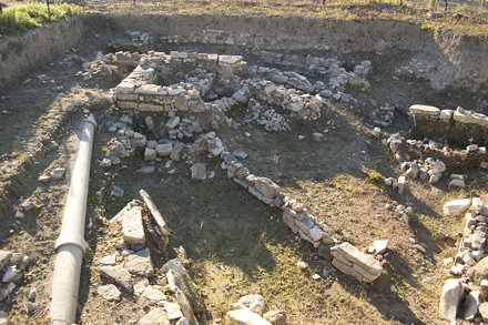 Klazomenai/Liman Tepe Excavation Sector, looking west