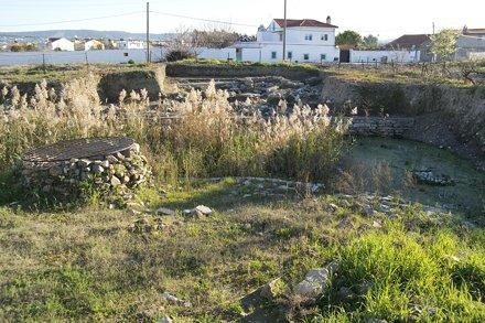 Klazomenai/Liman Tepe Excavation Sector, looking south