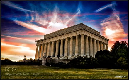 Abraham Lincoln Memorial ...