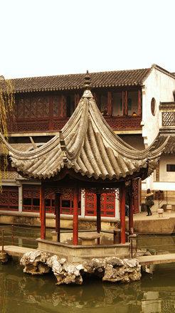 Pavilion at the Lion Grove Garden (Suzhou)