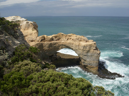 Rocky arch