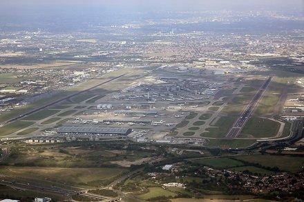 After #landing hear in  Heathrow #International #Airport after our #8hour #BritishAirways first clas