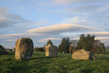 Long Meg Stone Circle