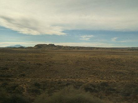 Through the NM desert