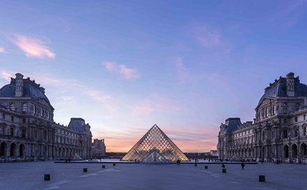 Musee du Louvre is a masterpiece itself
