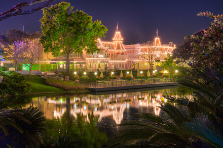 Magic Kingdom - Night Reflections