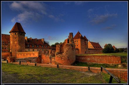 Castle Malbork, Poland