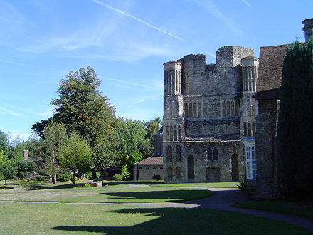 St Mary's Abbey, West Malling