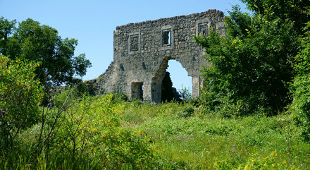 Mangup-Kale. Citadel, XIV-XVIII