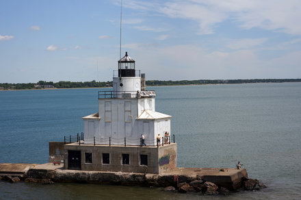 Manitowoc breakwater light