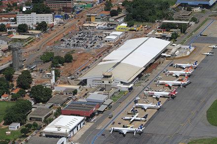 Janeiro/2014 - Obras no Aeroporto Internacional de Cuiabá - Marechal Rondon