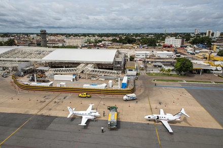 Dezembro de 2013 - Obras no Aeroporto Internacional de Cuiabá - Marechal Rondon