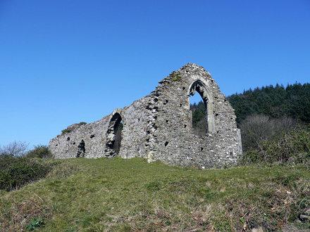 Hen Eglwys chapel ruins 28th March 2012 (4)
