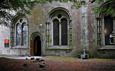 Entrance To Margam Abbey