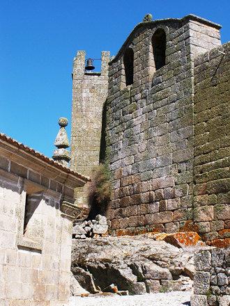 The old walls of Marialva