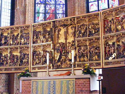 Altar Panel, Marktkirche. Hannover