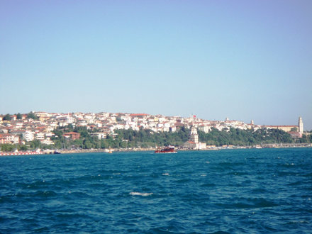 Boat trip along the Bosphorus