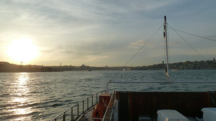 Round Trip Across the Bosphorus