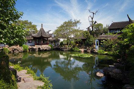 Master of the Net's garden in Suzhou