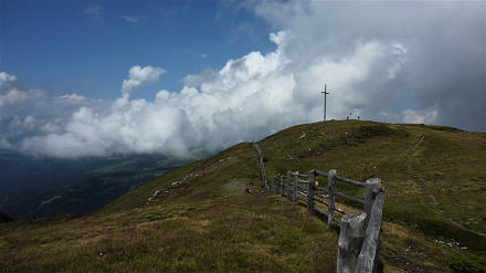 Gipfelkreuz Maurerberg 2332 m