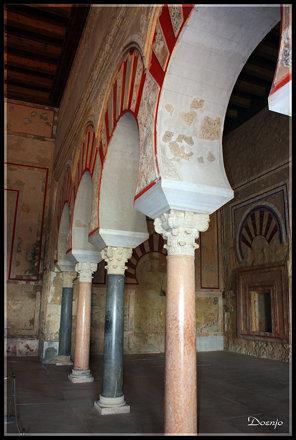 Madinat al-Zahra Salón de Abd al- Rahmam