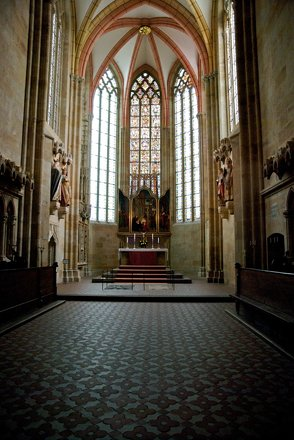 Inside Meissen Cathedral
