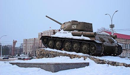 Tank Monument in Tiraspol, Transnistria