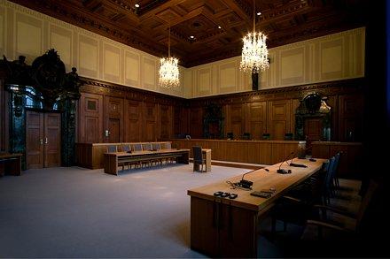 Зал, в котором судили нацистов. Нюрнберг, Германия