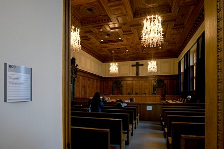 Зал №600, в котором судили нацистов. Нюрнберг, Германия