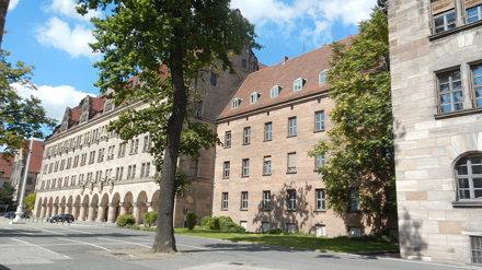 Nürnberg, Justizpalast [30.08.2014]
