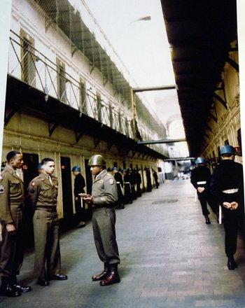 Nuremberg - Court room 600 museum, prison supervision