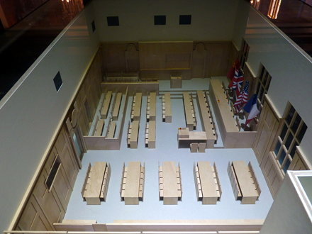 Nuremberg - Court room 600 museum (2)