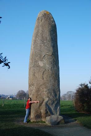 20081230 05063 Menhir de Champ-Dolent Brittany France