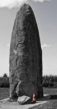 Menhir du Champ Dolent
