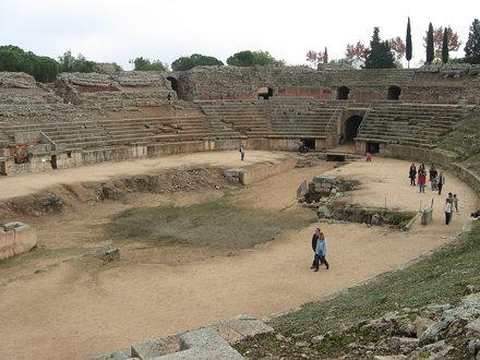 Merida - Roman amphitheatre