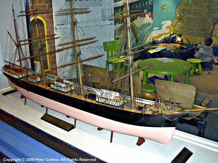 US Sailing Ship California - Merseyside Maritime Museum, Liverpool