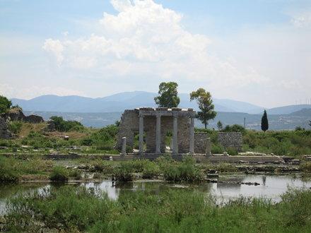 Milet - Portique ionique du Gymnase