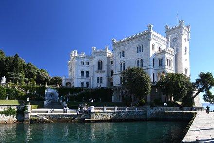 Trieste, Schloss Miramar (1860)
