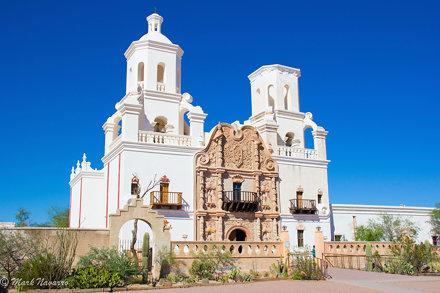 Mission San Xavier del Bac - Tucson, Arizona