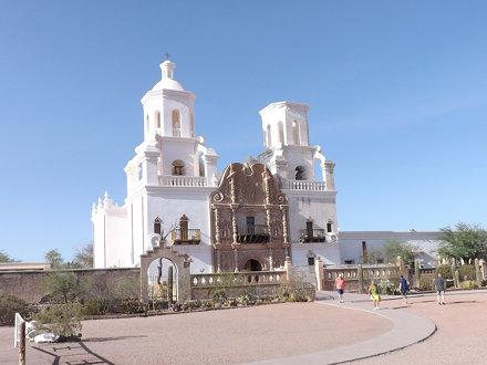 San Xavier del Bac (Front), Tuscon, Arizona