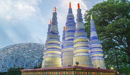 Porcelain Stupas Pagoda