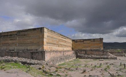 Zapotec Temple, Mitla, Mexico