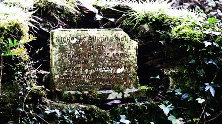 Old Headstone at St. Michaels Church - Templemichael Co. Waterford