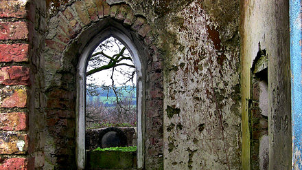 Old Window Arch at St. Michaels Church - Templemichael Co. Waterford